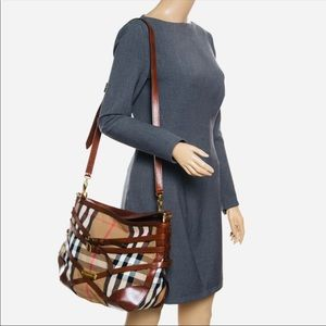 Burberry Bridle Dutton Handbag